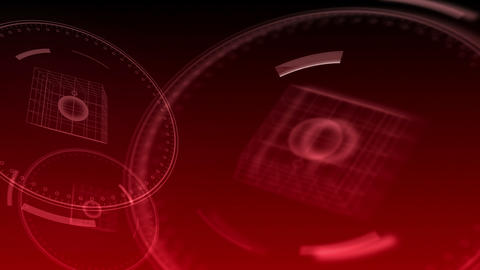 10 seconds to 12 - Hi-tech Clock 85 (HD) Stock Video Footage