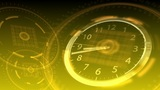 Time Flies - Hi-tech Clock 89 (HD) Animation