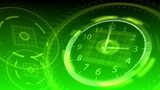 Time Flies - Hi-tech Clock 93 (HD) Animation