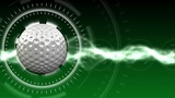Golf Ball Background 01 (HD) stock footage