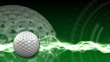 Golf Ball Background 03 (HD) stock footage