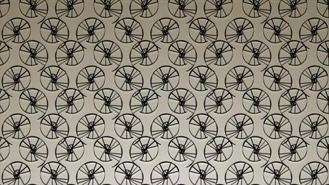 Spiwall - Simple wallpaper-like Video Background Loop Stock Video Footage