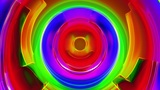 Colorfool 3 - Colorful Circles Texture Video Background Loop Animation