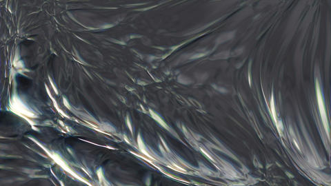 Metaliq 2 - Evolving Metal Texture Video Background Loop Stock Video Footage