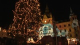 Christmas lights in Graz, Austria Footage