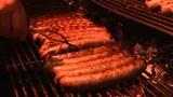 Sausage Stall stock footage