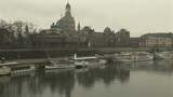 Elbe River and the Old Town, Dresden Footage
