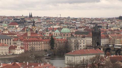 Prague city Stock Video Footage