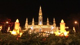 Christmas lights in Vienna Footage