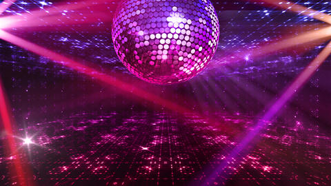 Mirror Ball 2 x 3 DF Ams HD Stock Video Footage