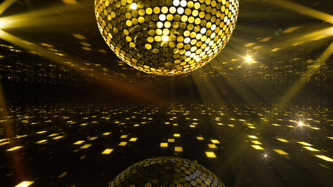Mirror Ball 2 x 3 DF Bms HD Stock Video Footage