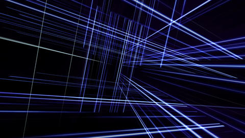 Rotating Lines Stock Video Footage