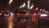 car window rain night background defocused Footage