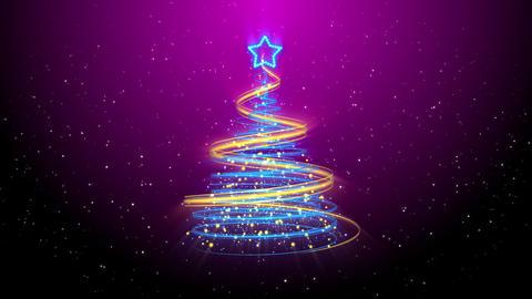 Christmas Tree Background - Merry Christmas 56 (HD) Animation