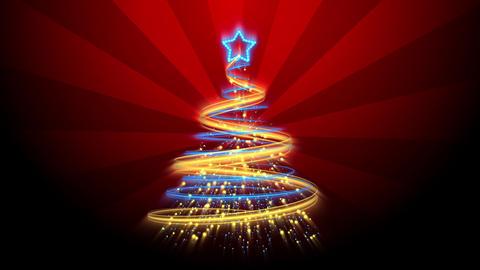 Christmas Tree Background - Merry Christmas 66 (HD) Animation