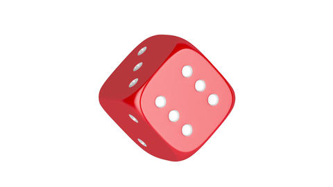Dice stock footage