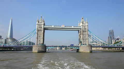 Tower Bridge London Footage