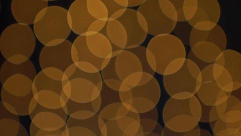 Golden Bokeh Lights Blinking Background Footage