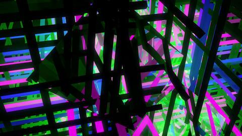 Bright Cubes 4K 02 Vj Loop Animación