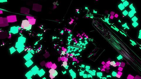 Bright Cubes 4K 05 Vj Loop Animation