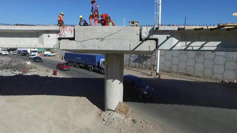 Highway construction Filmmaterial