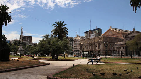 Palace Of Justice - Buenos Aires Footage
