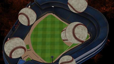 American Baseball Promo Animation