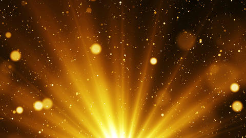 Golden abstract background Animation