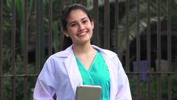 Young Female Nurse Live Action