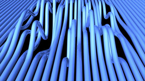 Abstract background with bend pipes Photo