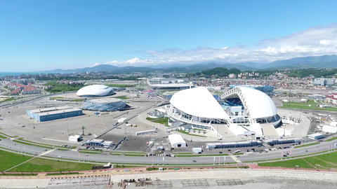Sochi with quadrocopter Footage