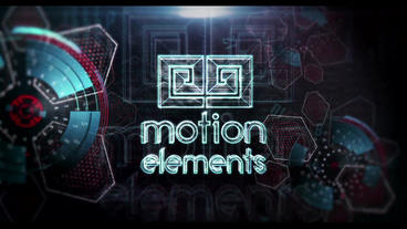 Infographic Sci Fi Logo 2 (remastered+ NEW presets) After Effects Template