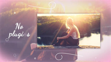 Clean Slideshow After Effects Templates