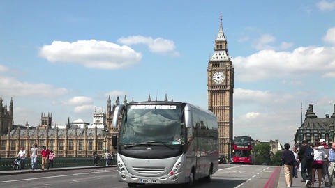 Big Ben Houses Parliament Stock Video Footage