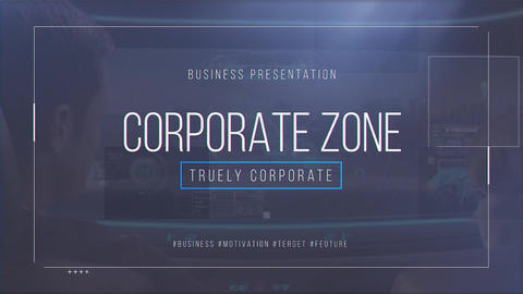 Corporate Zone After Effects Template