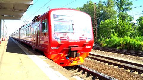 Long-distance Passenger Train. 0