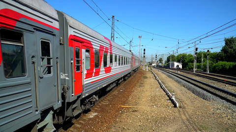Long-distance Passenger Train. 1