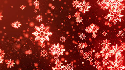 Christmas Golden Flakes 4 Animación