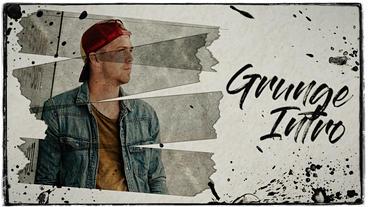 Grunge Intro Premiere Proテンプレート