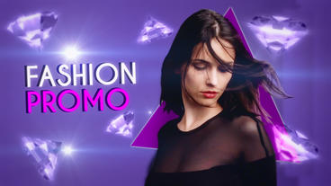 Fashion Freeze Promo Premiere Proテンプレート