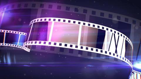 Violet Movie Making Film Rolls Animation