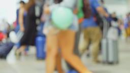 People walking in city Footage
