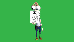 Better Get Your Eyes Checked (Animation): Matte + Loop Animation