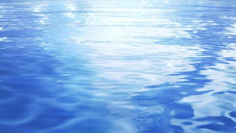 Water Surface 16 Af c 4 K CG動画