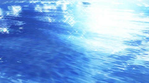 Water Surface 16 An c 4 K, CG動画素材
