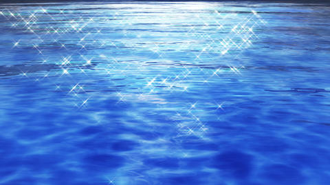 Water Surface 16 Df c 4 K CG動画