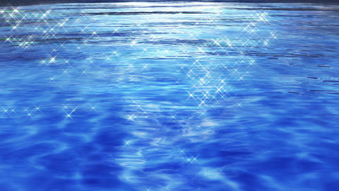 Water Surface 16 Df c 4 K, CG動画素材