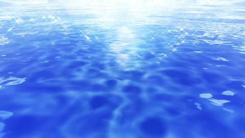 Water Surface 16 Em c 4 K CG動画