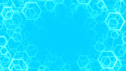 Hexagon Background V.1 Stock Video Footage