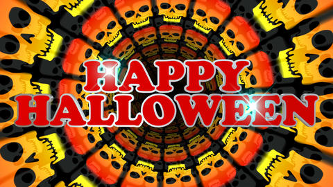 Happy Halloween Loop Animation Animación